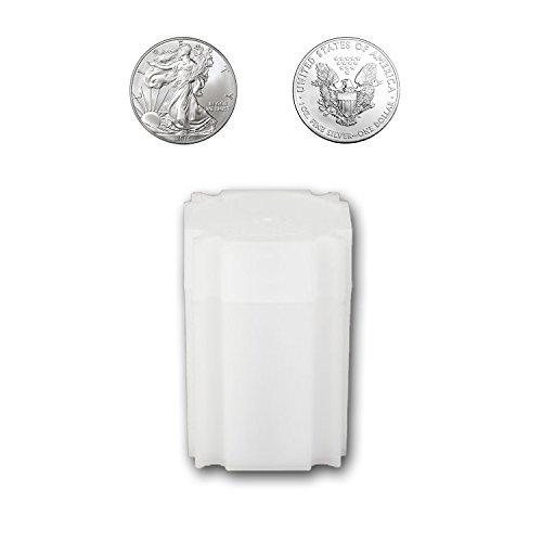 CoinSafe Silver Eagle Tube - Each Tube Holds 20ea 40mm 1-Oz Silver American Eagle ASE Coins
