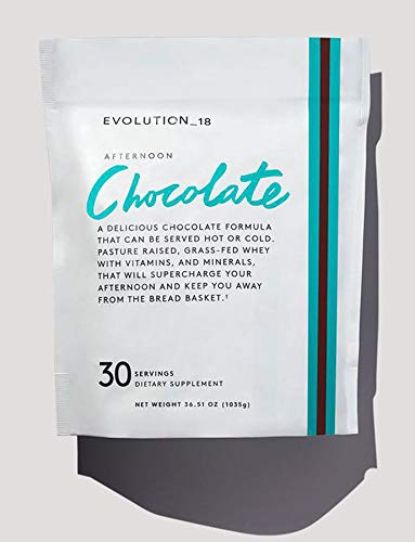 Bobbi Brown Evolution_18 Beauty Supplements! Formulated with Clean and High-Quality Ingredients! Enhance Gorgeous Skin, Strong Nails & Shinier Hair! Choose Your Beauty Supplements! (Afternoon Choco) by EVOLUTION_18