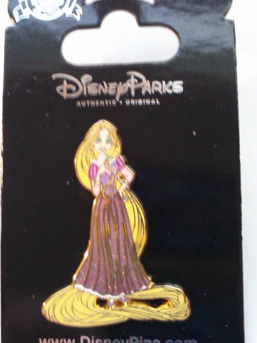 Disney Princess Rapunzel Glitter Dress Tangled Pin 93357 (Tangled Rapunzel Dress)