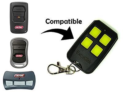 ExcelTek Compatible Garage Remote with Genie Intellicode G1T-BX G2T-BX G3T-R GM3T-BX GITR-3 GIC90-3 GIT-1 GIT-2 GIT-3 OCDT-1 OCDT-2 OCDT-3