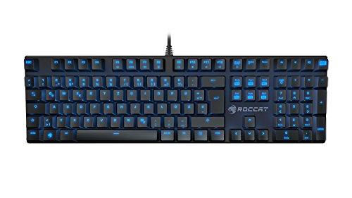 Roccat Suora Frameless Tactile Mechanical Gaming Keyboard UK Layout in Black