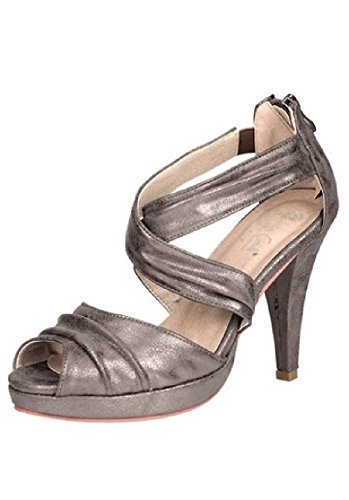 Sandal with gloss effect of Patriia Dini Brown - Taupe metallic I0YxM8iqb