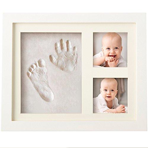 Boss Babies Clay HAND PRINT & FOOTPRINT Photo Frame Kit for Newborn Boys...