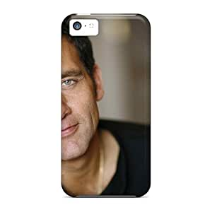 Premium YLy25190QTSf Cases With Scratch-resistant/ Clive Owen Celebrities Hd S Cases Covers For Iphone 5c