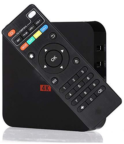 Android 7.1 Mini TV Box, 4K Ultra HD Streaming Media Device, 1/8GB ROM, 4 Core, 64Bit