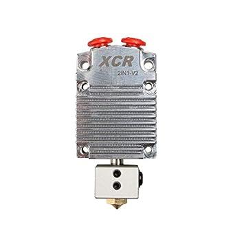 Amazon.com: Pieza de impresora 3D XCR 2IN1-V2 conmutación de ...