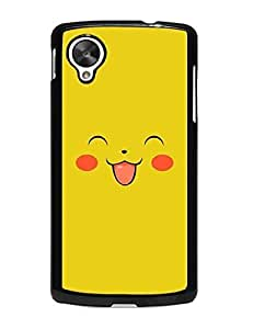 Hot 1694363M444323057 Anime Pokemon Collection Cute Style LG Nexus 5 Back Case Cover