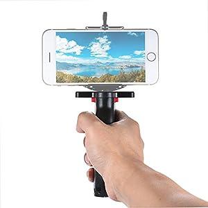 Andoer Wide Platform Pistol Grip Camera Handle with 1/4 Screw for SLR DSLR DC Canon Nikon Sony Iphone Xiaomi Smartphone
