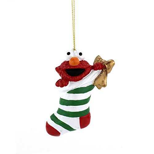 Sesame Street Kurt Adler Blow Mold Ornament Gift Boxed (Elmo)
