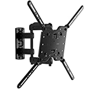"""Made for Amazon"" Sanus Full-Motion TV Wall Mount for 32"" to 80"" TVs - Universal Design is Compatible with Fire TV Editions, TCL, Samsung & More"