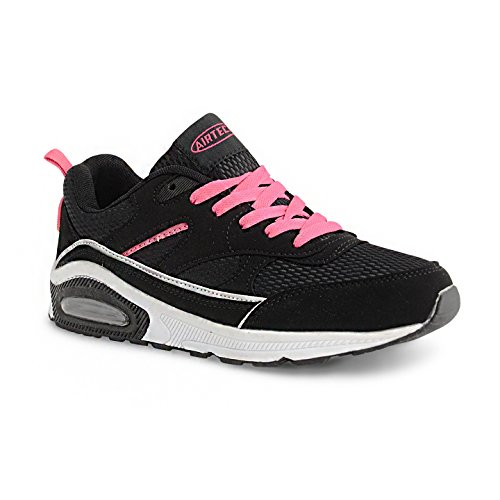 Absorbing Running Gym Girls Black Jogging Trainers Shock Shoe Fitness Womens Legacy Trainer Fuchsia 5fwqYxSat6