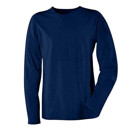 Navy Blue Blaklader 3314103289004XL Long Sleeves T-Shirt 4X-Large