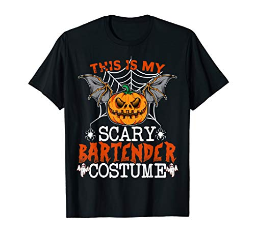 Scary Halloween Costume Ideas 2019 (This Is My Scary Bartender Costume Funny Halloween Gifts)
