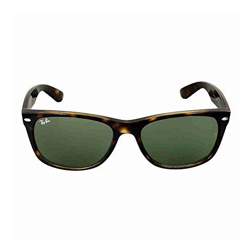 Ray-Ban NEW WAYFARER - TORTOISE Frame CRYSTAL GREEN Lenses 52mm Non-Polarized