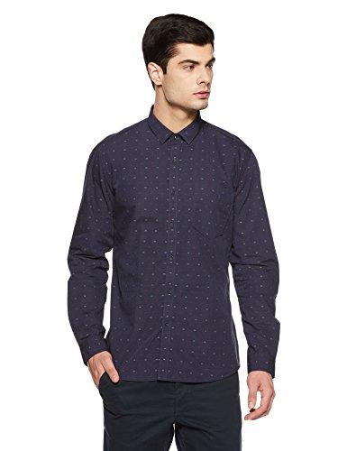 Van Heusen Men's Checkered Slim Fit Casual Shirt