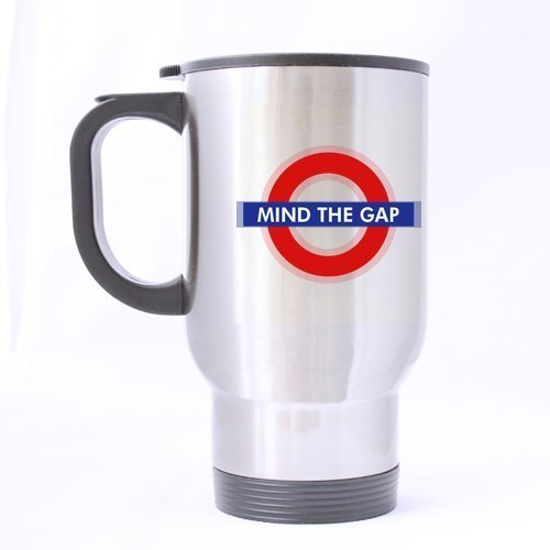 Parte superior divertido cartel del metro de Londres taza de ...