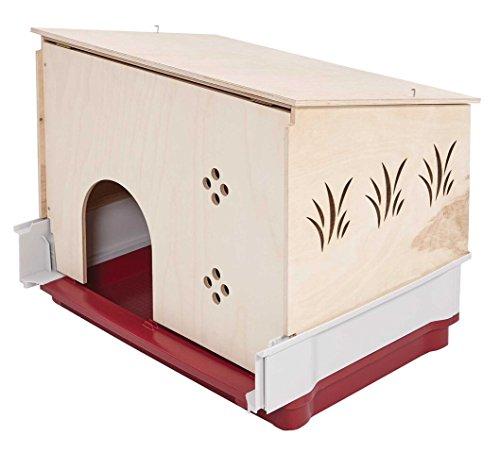 Rabbit Hutch Extension | Wood Rabbit Hutch Extension Fits Midwest Models 158 & 158XL