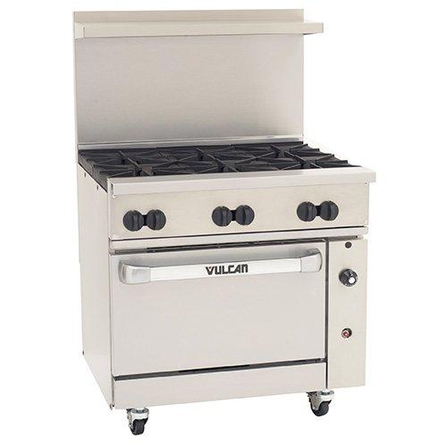 Vulcan Restaurant Equipment - Vulcan 36-S-6B-N Vulcan 36S06B - Endurance Gas Range, 36