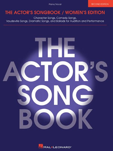 The Actor's Songbook: Women's Edition (Piano Vocal Series)