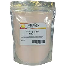 Medley Hills Farm Premium Curing Salt , Quick Cure , Prague Powder 2 Lbs - #1 Pink