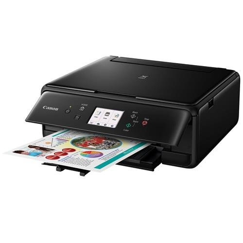 Canon Compact TS6020 Wireless Home Inkjet All-in-One Printer, Copier & Scanner, Mobile...