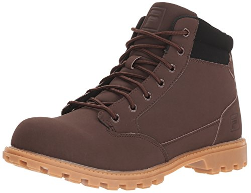 Fila Mens Boots - Fila Men's NYCON Fashion Boot, Espresso/Black/Gum, 10 Medium US