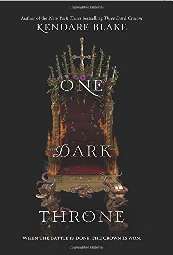One Dark Throne (Three Dark Crowns) cover