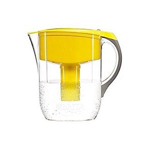 New Brita 35482 Walter Filtration Purifier Great Yellow Water Pitcher 8196412