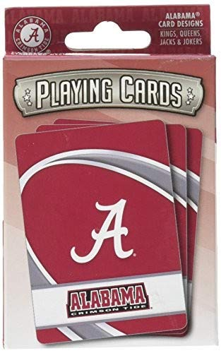 MasterPieces NCAA Alabama Crimson Tide Playing Cards Alabama Crimson Tide Playing Card