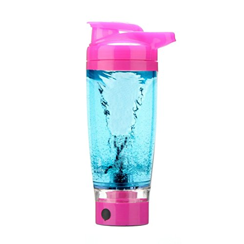 Vortex Mixer Blender Protein Storage Container Shaker Bottle Evolution (Red)