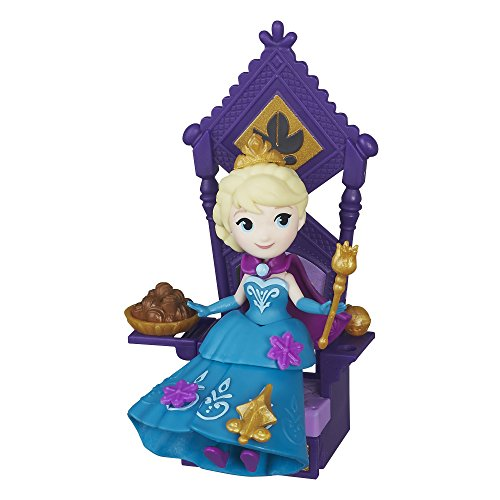[Disney Frozen Little Kingdom Elsa & Throne] (Sit And Be Fit Costume)