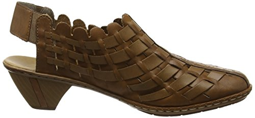 on Rieker Brown Womens Slip Womens 78 Sina Rieker Sina R0Ewq0xU