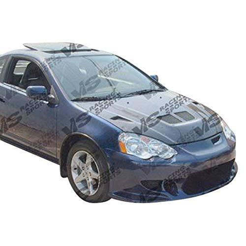 Acura Rsx Evo Carbon Fiber - Brightt (VIS-HLB-196) EVO Style Hood Carbon Fiber - Compatible for Acura RSX 2002-2006 (2002 2003 2004 2005 2006 | 02 03 04 05 06)