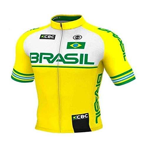 Camisa Ciclismo Mtb Ert Elite Brasil Slim Fit GG