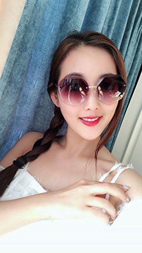 en lunettes Mesdames de 6 soleil soleil l'océan grand soleil Lunettes soleil cadre lunettes Un couleur Shop de de de de cristal de lunettes xOSPSI