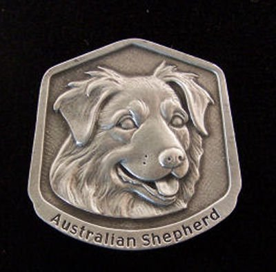 - Lindsay Claire Australian Shepherd Fine Pewter Dog Breed Ornament