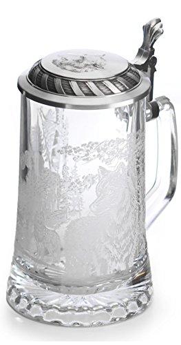 Artina Beer stein wolf 0.5 liter Artina 93338