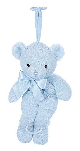 Bear Musical Pull - Bearington Baby Huggie Bear Hush-A-Bye Musical Pull (Blue)