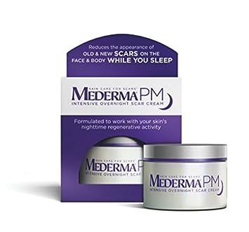 Amazon.com : Mederma PM Intensive Overnight Scar Cream 1.7 oz ...