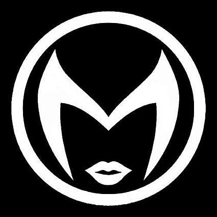 Amazon com: YWS Vinyl Sticker Decal - Scarlet Witch Symbol