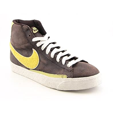 premium selection d99df 83b47 Nike Blazer High Supreme Mens Sneakers (Baroque Brown/Zest ...