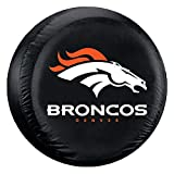 Fremont Die NFL Denver Broncos Tire Cover, Large Size (30-32