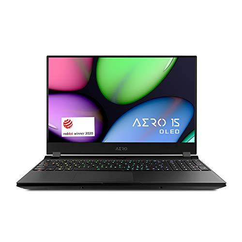 "[2020] Gigabyte AERO 15 SB Thin+Light Performance Laptop, 15.6"" 144Hz FHD IPS Display, GeForce GTX 1660 Ti, Intel Core i7-10750H, 16GB DDR4, 512GB NVMe SSD, Up to 8.5-hrs Battery Life"