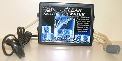 Clear Water Ozone Air, Water Purifier: Now With Improved Kinkless Hose