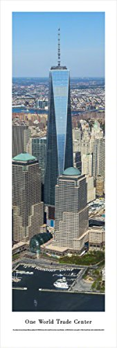 One World Trade Center - Blakeway Panoramas Unframed Icon Posters (Icon Unframed)