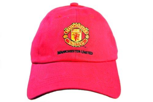 FC MANCHESTER UNITED OFFICIAL TEAM LOGO CAP / HAT - MU059