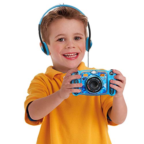 VTech Kidizoom Duo 5.0 Deluxe Digital Selfie Camera with MP3 Player & Headphones, Blue by VTech (Image #3)