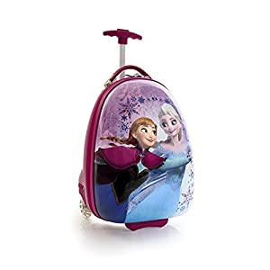 New Disney Frozen Elsa Anna Sisters Polycarbonate Hard Luggage