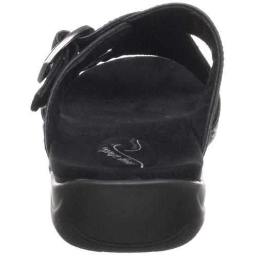 Facile Rue Des Femmes Torche Diapositive Sandale Noir Dégringolé