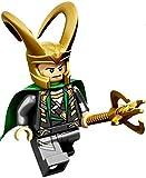 Lego Marvel Super Heroes Loki Minifigure